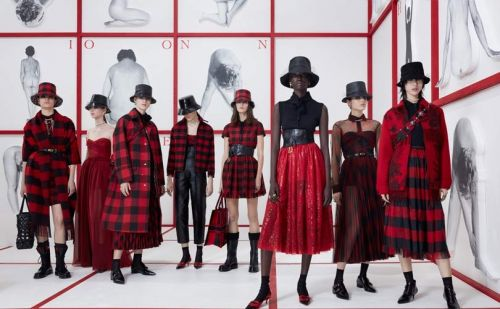Tartan, hats and nipped waists: the big trends from Paris fashion week