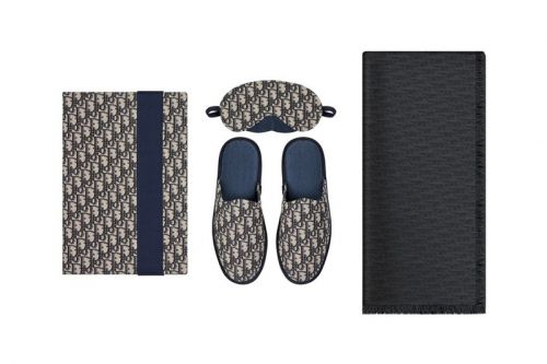 Dior Men Launches First-Ever Homewear Kit in Oblique Jacquard