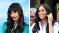 Jameela Jamil Corrects Meghan Markle Rumor: 'I've Met This Woman Once'
