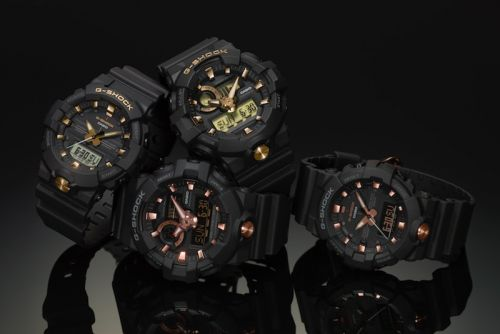 G-SHOCK Adds Luxe Gold Trim Onto Its GA700 & GA800 Models