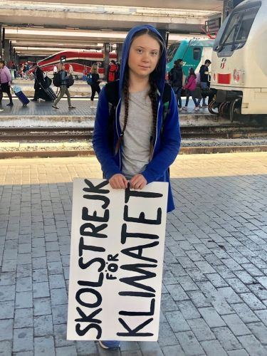 Greta Thunberg tells climate change protesters to 'keep going'