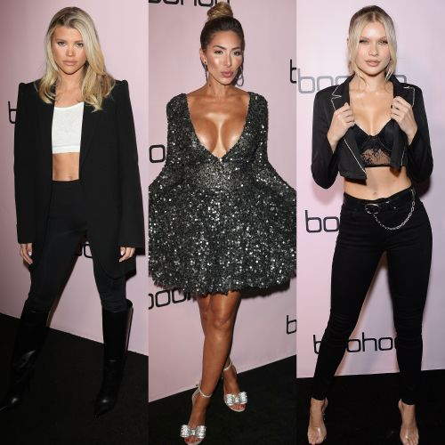 Sofia Richie, Farrah Abraham, Josie Canseco and More Dazzle at Boohoo's All That Glitters Event