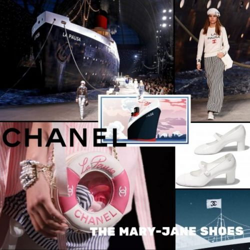 CHANEL - The Mary-Jane Shoes