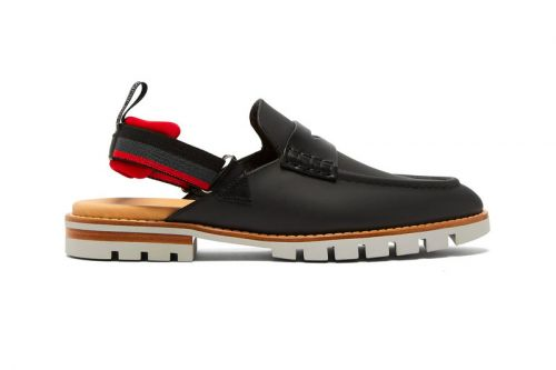 Fendi's Leather Loafer Sandals Pull from 3 Different Types of Footwear