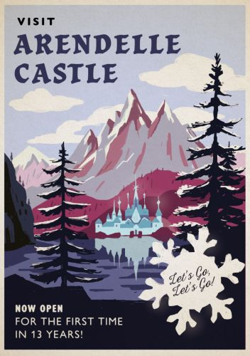 ACCOR HOTELS VINTAGE INSPIRED TRAVEL POSTERS