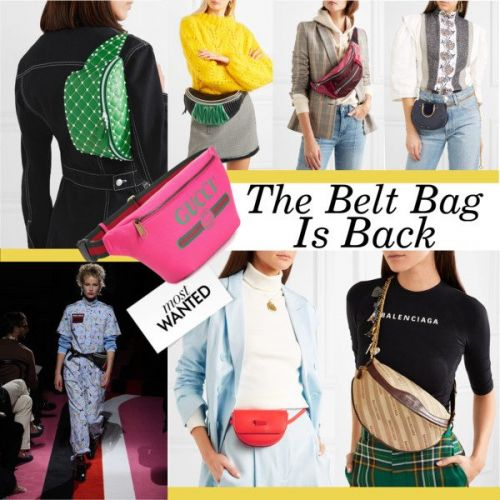 The Belt Bag Is Back
