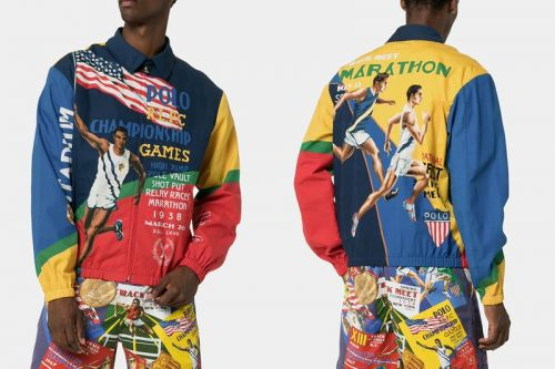 Polo Ralph Lauren Channels Track & Field Pride With Printed SS19 Pieces