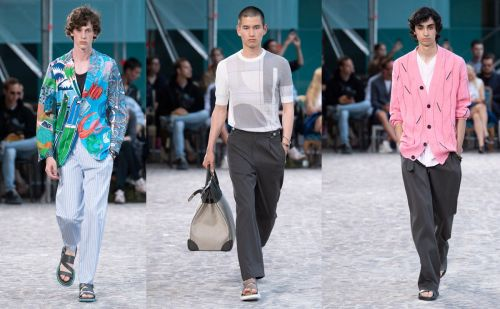 Hermès brings summery nonchalance to PFWM