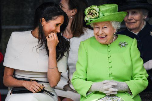 The Queen Reportedly Wants Meghan Markle to Inherit Her Staggering Wealth - and Prince Charles Is Fuming