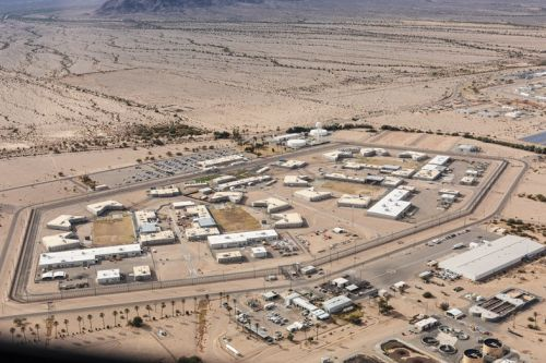 Sterling Ruby's Aerial Portrait of California's Endless Prison System