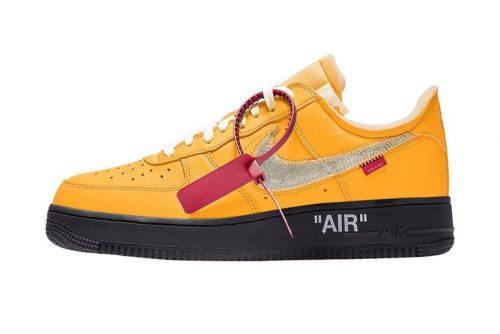 """Release Info for the Off-White™ x Nike Air Force 1 """"University Gold"""""""