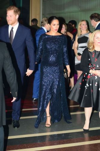 Meghan Markle Is Covered in Sequins with a Stunning Roland