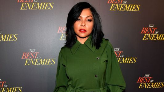 Taraji P. Henson Kicks Off Another Movie Promo Tour in an Alberta Ferretti Jumpsuit
