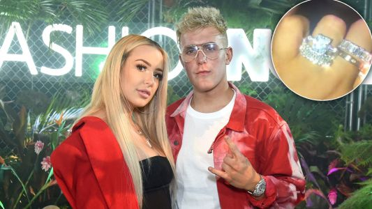 Hold Up. It Totally Looks Like Tana Mongeau and Jake Paul Are Engaged