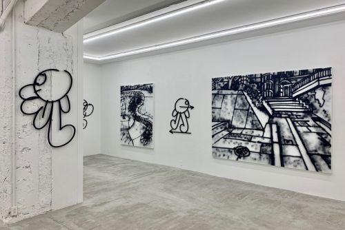 """James Jarvis Unveils Massive Spray-Can Paintings in """"Throw-Ups"""" Exhibit"""