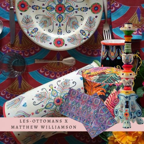 Les-Ottomans x Matthew Williamson