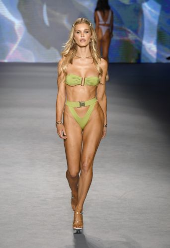 Monica Hansen Swimwear Shows Spring/Summer 2020 Collection At Paraiso Fashion Tent During Miami Swim Week