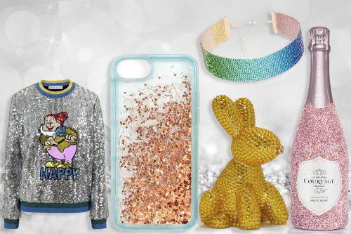 Glittery gift ideas for the sparkle-lover in your life