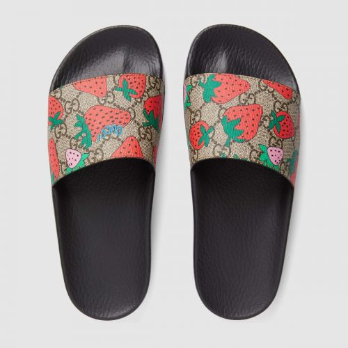 The Gucci Slides That Will Help Alyssa Dress Like a Fruit Salad All Summer