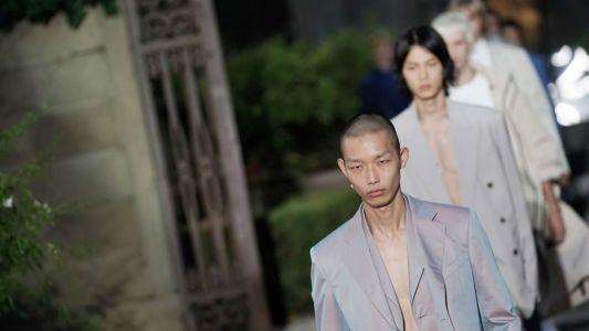 See Every Look From Clare Waight Keller's Debut Men's Runway Show for Givenchy