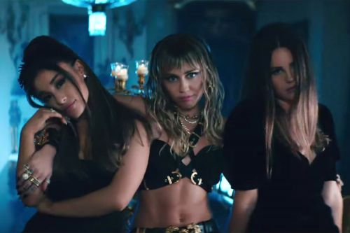 """Watch Miley Cyrus, Ariana Grande, and Lana Del Rey Exact Their Revenge in """"Don't Call Me an Angel"""" Music Video"""