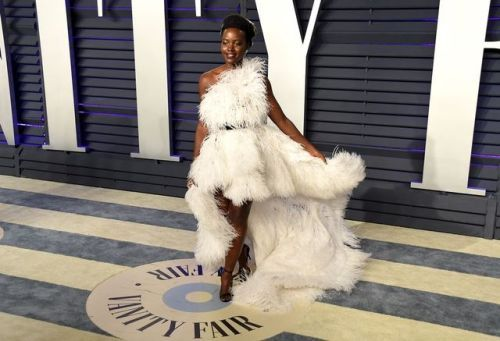 Lupita Nyong'o Skipped the Oscars Red Carpet, But Stunned in a