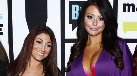 JWoww Snaps Back At A Man Who Calls Pregnant Deena 'Fat' In An Exclusive 'Jersey Shore Family Vacation' Clip: Watch!