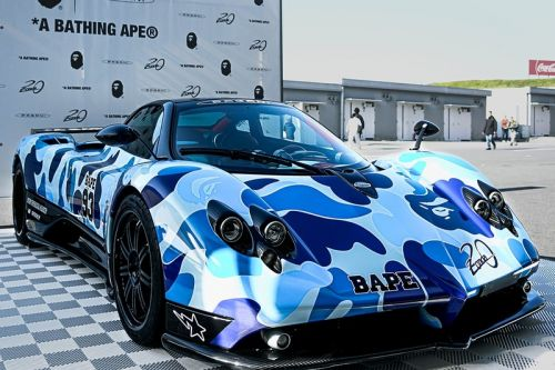 BAPE & Pagani Hit Suzuka Circuit To Celebrate the 20th Anniversary of the Zonda