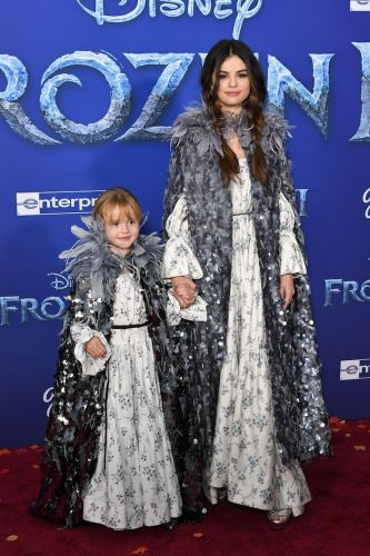 Selena Gomez and Her Little Sister Wore Matching Outfits to the 'Frozen 2' Premiere, and I'm Crying