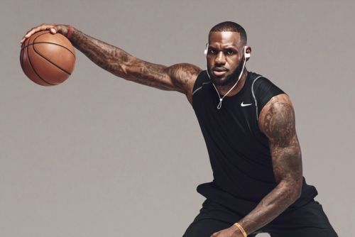 Apple Music & Nike Introduce NBA Jersey-Connected LeBron Playlist
