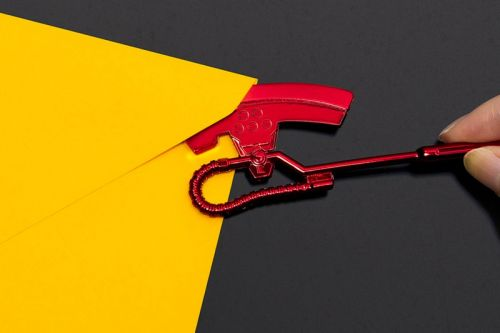 Open Your Envelopes Like Char Aznable With This Mini Heat Hawk Axe