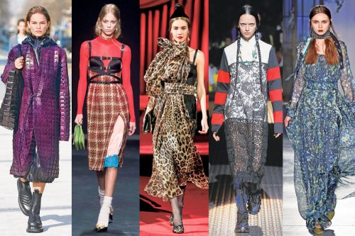 From leopard spots to perky plaids, the best of Milan's fall fashions