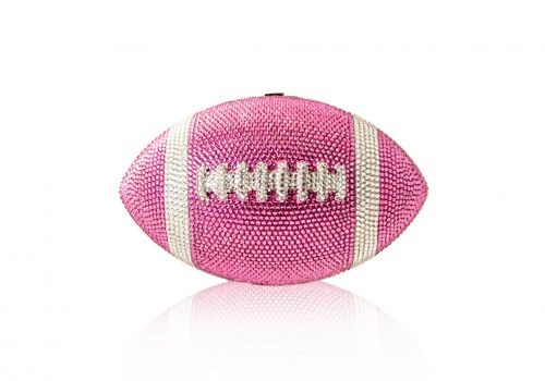 Is this crystal-encrusted football the Super Bowl 2019 of bags?