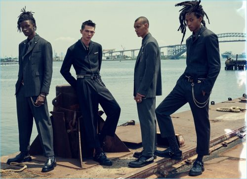 Zara Man Taps Fresh Lineup of Models for Fall '18 Campaign