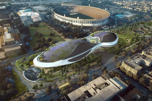 A First Look at George Lucas' Museum in Los Angeles