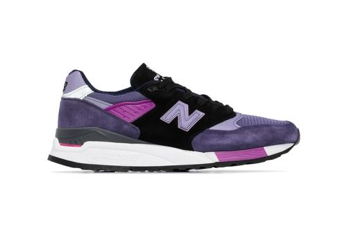 New Balance 998 Appears With Rich Purple Hues