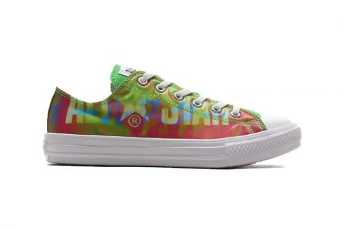 """Converse Japan Glosses ALL STAR Lows With Lenticular """"Big Logo"""" Finish"""