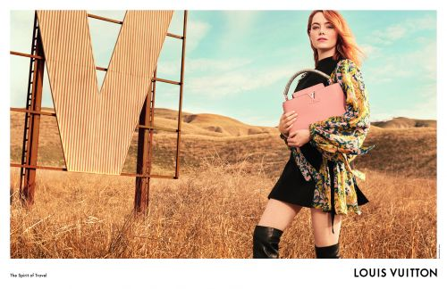 EMMA STONE STARS IN HER FIRST LOUIS VUITTON CAMPAIGN