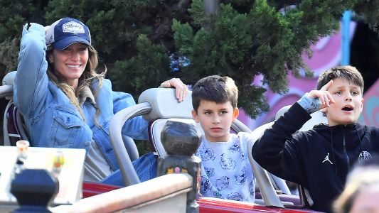 Family Fun! Tom Brady and Gisele Bündchen Take Their Kids to Disneyland