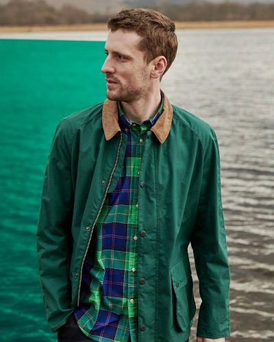 George Barnett Embraces Bright Hues for Barbour Pop Tartan Collection