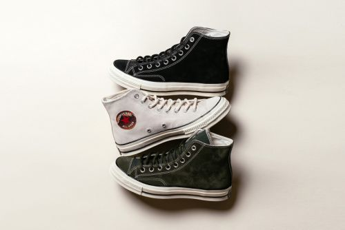 """Converse Reveals Minimal Chuck Taylor All Star 70 Hi """"Suede"""" Pack"""