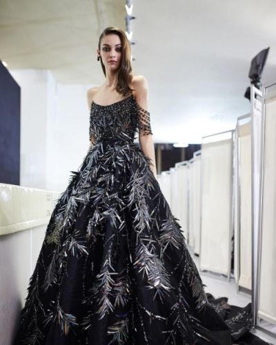 Georges Hobeika Couture SS 19 backstage!