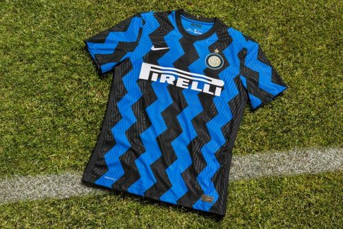 Inter Milan Replaces Stripes With Zigzags for 2020/21 Home Jersey