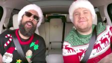 This Star-Studded 'Carpool Karaoke' Will Definitely Get You In The Holiday Mood