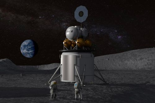 NASA Plans Moon Landing Using Commercial Vehicles in 2028