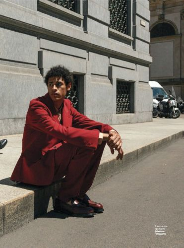 Kaissan Dons Salvatore Ferragamo for GQ México