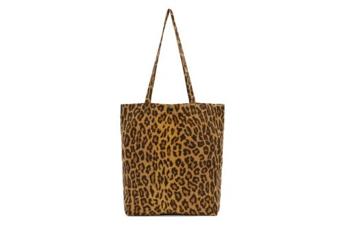 WACKO MARIA Designs a Leopard-Printed Tote Bag Exclusively for SSENSE