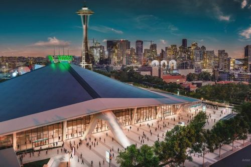 "Amazon Renames Seattle Venue ""Climate Pledge Arena"" After Buying Naming Rights"