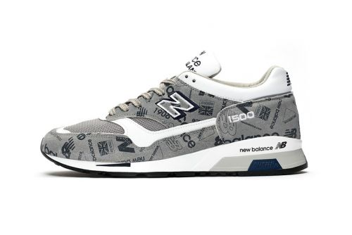New Balance 1500 Made in England Gets Archival Logomania Rework for SS19