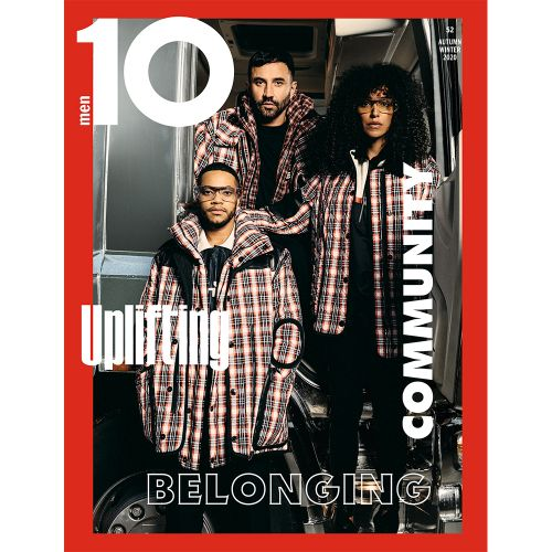 Ten Meets Riccardo Tisci, 10 Men Issue 52 Cover Star Alongside Burberry Muses Lea T and Izaak Theo